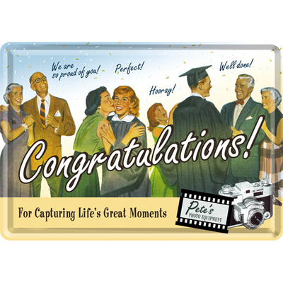 10107 Postikortti Congratulations