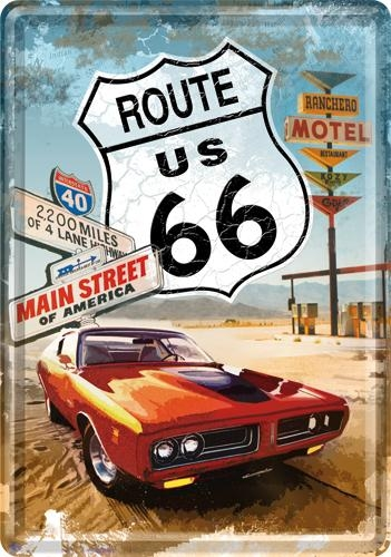10116 Postikortti Route 66 Gas Up