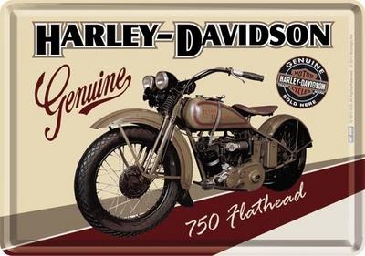 10122 Postikortti Harley-Davidson 750 Flathead