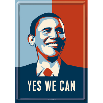 "10134 Postikortti Obama ""Yes we can"""