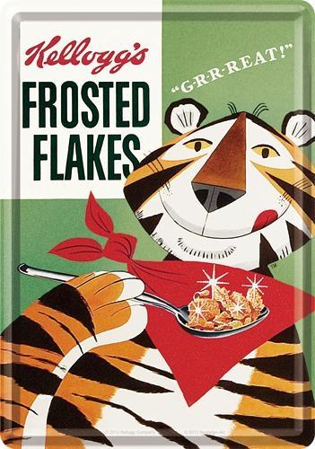 10157 Postikortti Kellogg's Frosted Flakes Tony Tiger