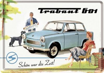10175 Postikortti Trabant 601