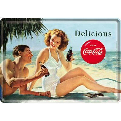 10266 Postikortti Coca-Cola Delicious ranta