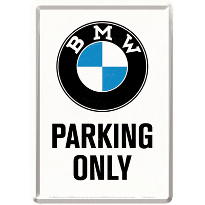 10269 Postikortti BMW Parking Only