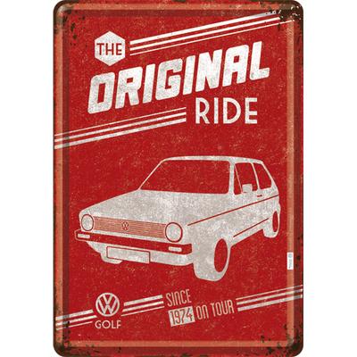 10271 Postikortti VW Golf The Original Ride