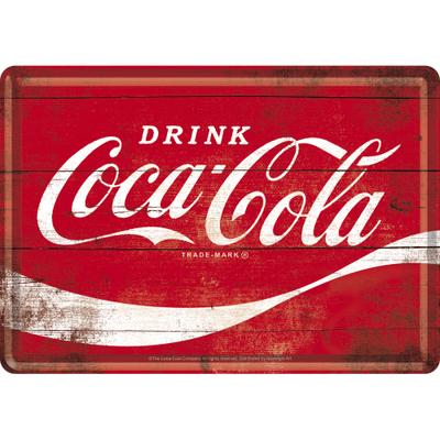 10275 Postikortti Coca-Cola logo