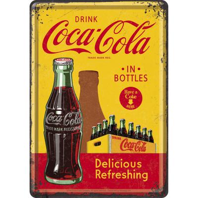 10276 Postikortti Coca-Cola in bottles