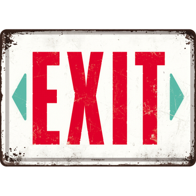 10279 Postikortti Exit