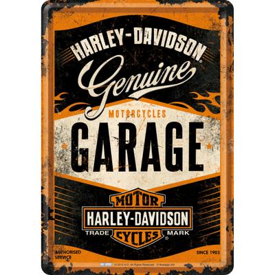 10281 Postikortti Harley-Davidson Garage