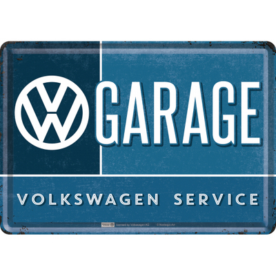 10282 Postikortti VW Garage
