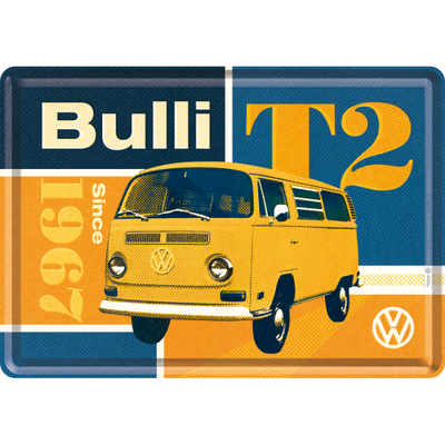 10283 Postikortti VW T2 Bulli