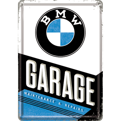 10291 Postikortti BMW Garage