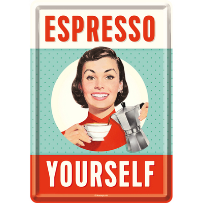 10296 Postikortti Espresso Yourself