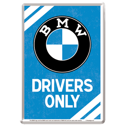 10308 Postikortti BMW Drivers Only