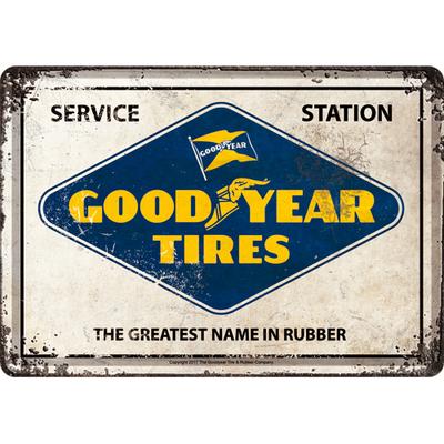 10312 Postikortti Goodyear Service Station
