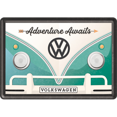 10317 Postikortti VW Bulli Adventure Awaits