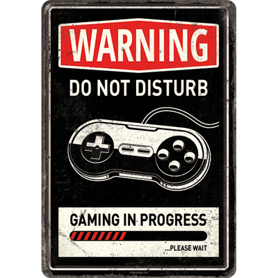 10320 Postikortti Gaming In Progress