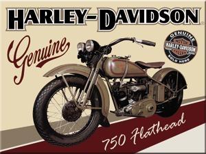 14223 Magneetti Harley-Davidson 750 Flathead