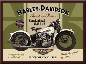 14224 Magneetti Harley-Davidson Knucklehead