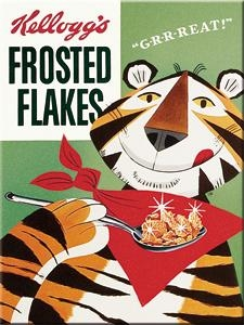 14258 Magneetti Kellogg's Frosted Flakes Tony Tiger
