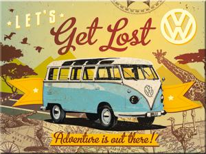 14317 Magneetti VW Bulli Let's get lost