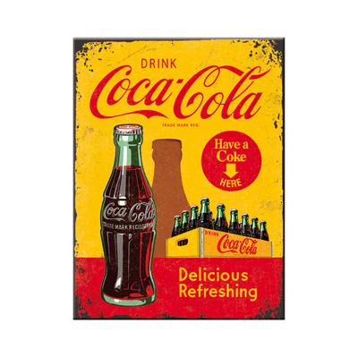 14321 Magneetti Coca-Cola in bottles