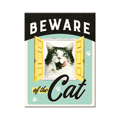 14354 Magneetti Beware of the Cat