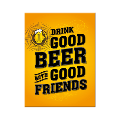 14355 Magneetti Drink good beer with good friends
