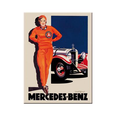 14371 Magneetti Mercedes-Benz nainen punaisissa
