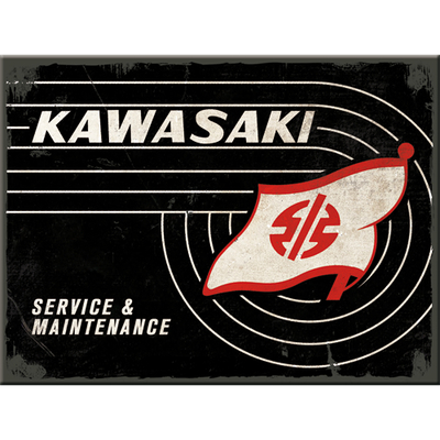 14382 Magneetti Kawasaki - Tank Logo