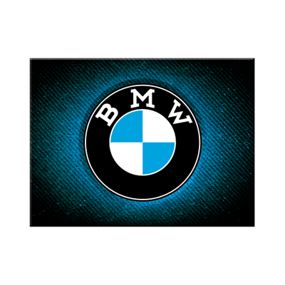 14385 Magneetti BMW - Logo Blue Shine