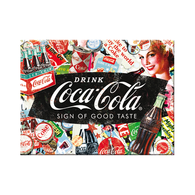 14389 Magneetti Coca-Cola - Collage