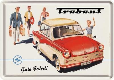 16325 Postikortti Trabant Limousine