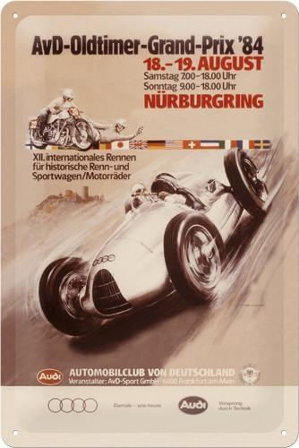 20286 Kilpi 20x30 AvD-Oldtimer-Grand-Prix '84
