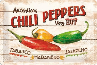 22186 Kilpi 20x30 Chili Peppers