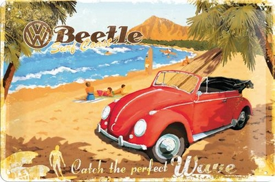 22189 Kilpi 20x30 VW Beetle Catch the perfect wave