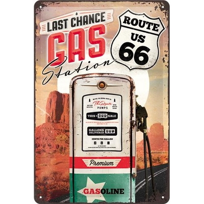 22215 Kilpi 20x30 Route 66 Last chance gas station