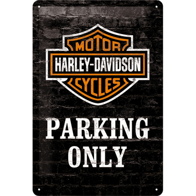 22231 Kilpi 20x30 Harley-Davidson Parking Only