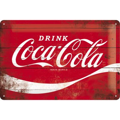 22235 Kilpi 20x30 Coca-Cola logo