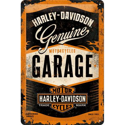 22238 Kilpi 20x30 Harley-Davidson Garage