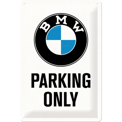 22241 Kilpi 20x30 BMW Parking Only