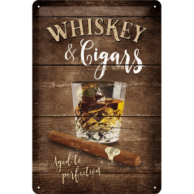 22257 Kilpi 20x30 Whiskey & Cigars