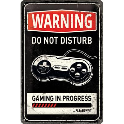 22264 Kilpi 20x30 Gaming in progress