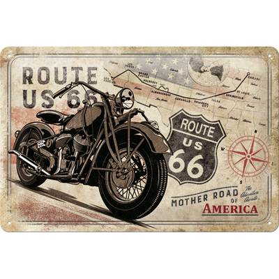 22279 Kilpi 20x30 Route 66 Mother Road of America