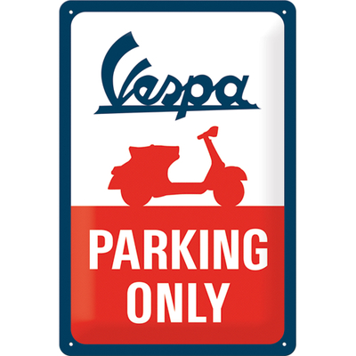 22282 Kilpi 20x30 Vespa Parking Only