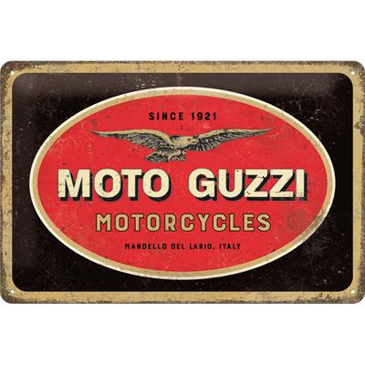 22285 Kilpi 20x30 Moto Guzzi logo
