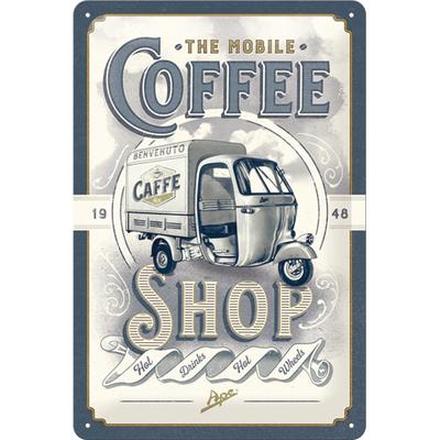 22287 Kilpi 20x30 Ape The Mobile Coffee Shop