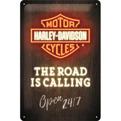 22294 Kilpi 20x30 Harley-Davidson - Road is Calling