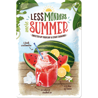 22298 Kilpi 20x30 Watermelon Summer Shake