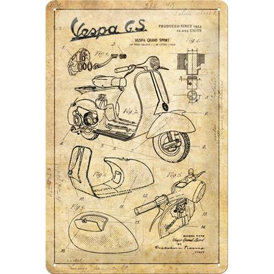 22312 Kilpi 20x30 Vespa - Parts Sketches